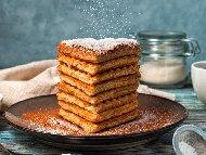 Рецепта Смес / тесто за гофрети с кисело мляко и бакпулвер